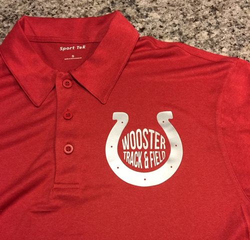 Wooster Track & Field Coach's Polo Shirts